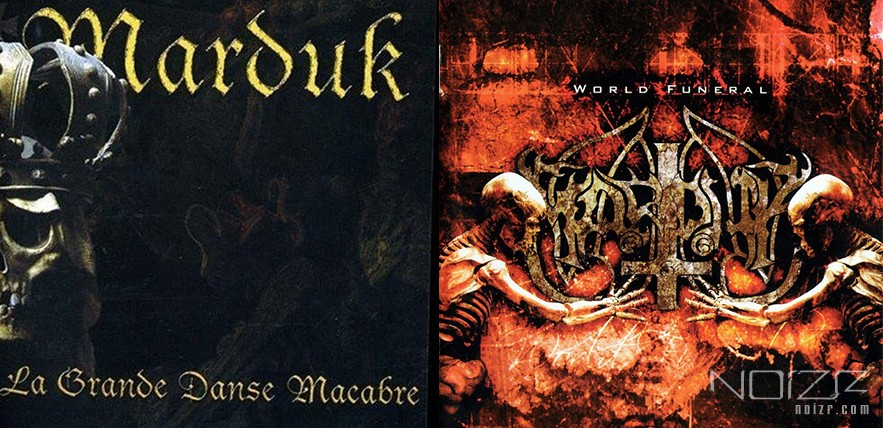 "Marduk: ""La Grande Danse Macabre"" and ""World Funeral"" re-issues"
