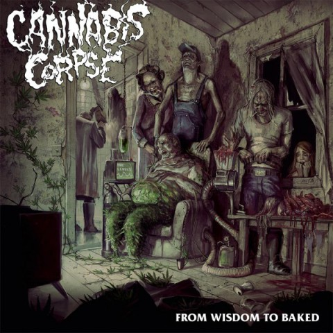 """Cannabis Corpse: новый альбом """"From Wisdom To Baked"""""""
