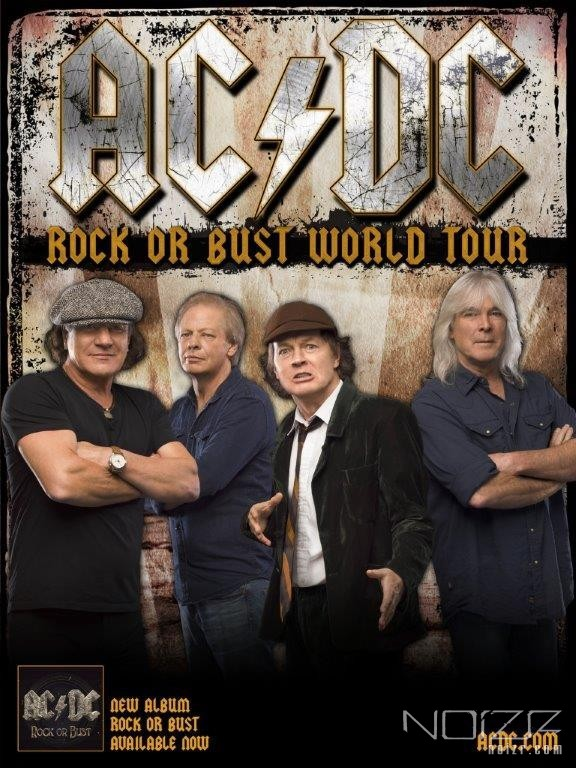 AC/DC announced 2015 European tour dates