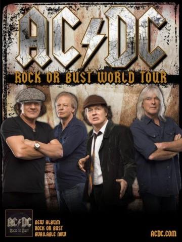 AC/DC анонсували дати європейського турне на 2015 рік