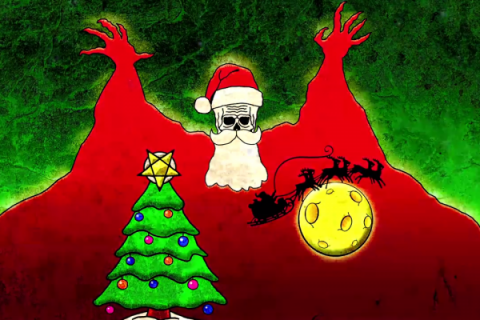 """Hail Santa"": Holiday parody of Ghost"