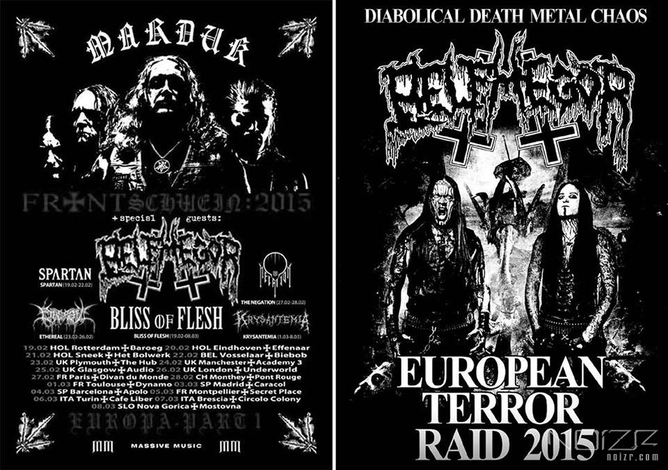 Belphegor announced European tour with Marduk and shows at festivals