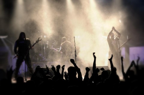 Ukrainian black metal: video from Khors' performance at the Oskorei Fest [Full show]