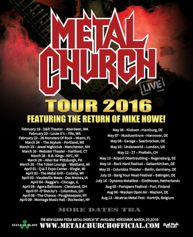 Metal Church Tour