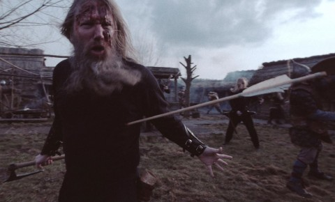 "Amon Amarth took part in slaughter in new video ""At Dawn's First Light"""