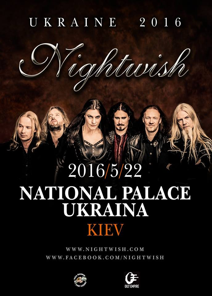 Nightwish Kiev 2016