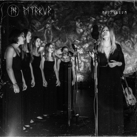Label shares Myrkur's track acoustic version recorded in mausoleum