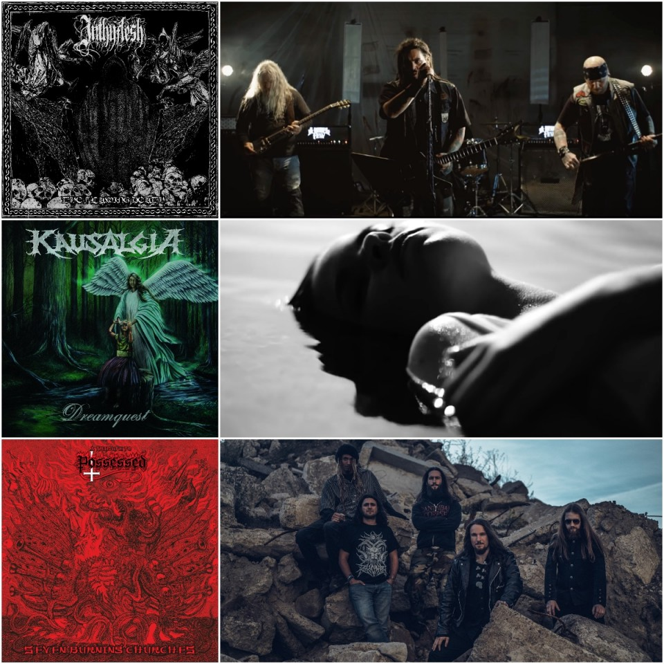 Новини одним рядком: Inthyflesh, Kausalgia, Sludgehammer, A Rebel Few, If I Die Today і триб'ют-альбом Possessed
