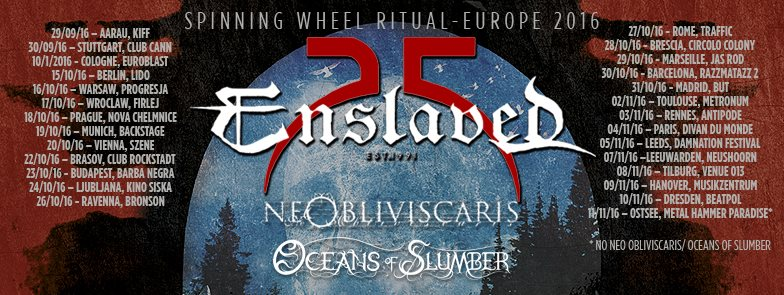 Enslaved tour dates