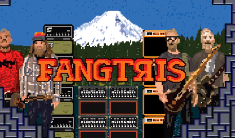 "Red Fang launch 16-bit Tetris-inspired game ""Fangtris"""