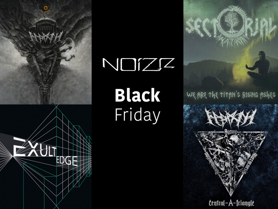 Black Friday: Sales for Noizr CDs and merch