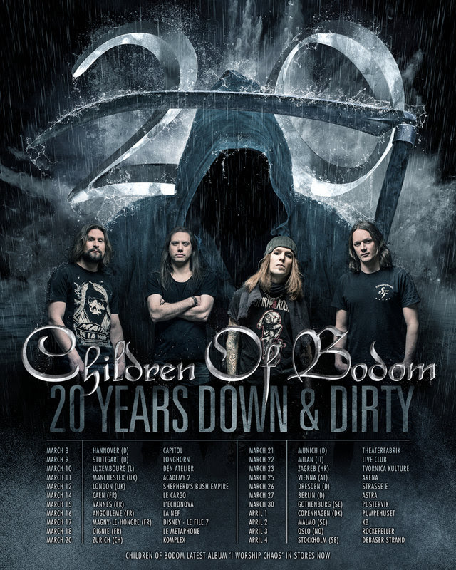20 Years Down & Dirty anniversary tour