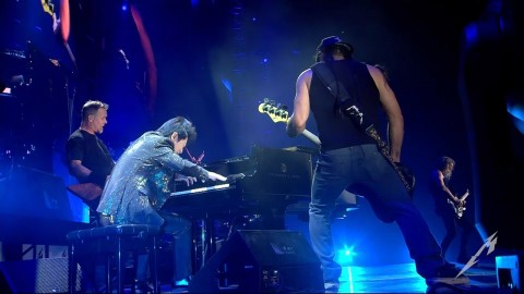"Video: Metallica perform ""One"" with the Chinese pianist Lang Lang"