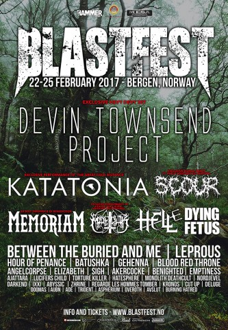 Blastfest 2017 to be held on February 22-25 in Norway