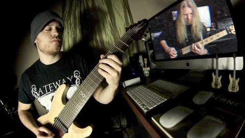 "Video blogger Rob Scallon presents track ""Gateways"" feat. Jeff Loomis"