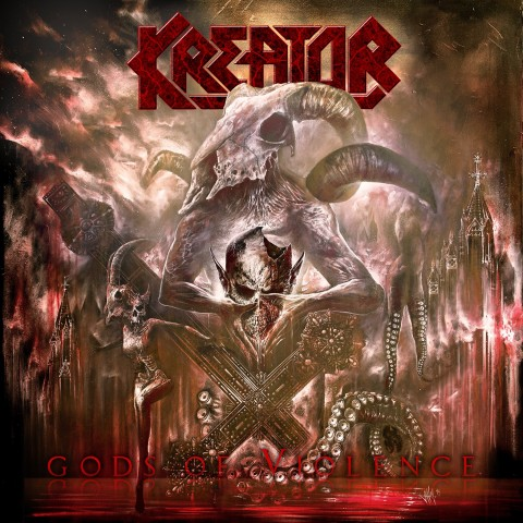 "Для фанатів олдскулу: Альбом Kreator ""Gods of Violence"""