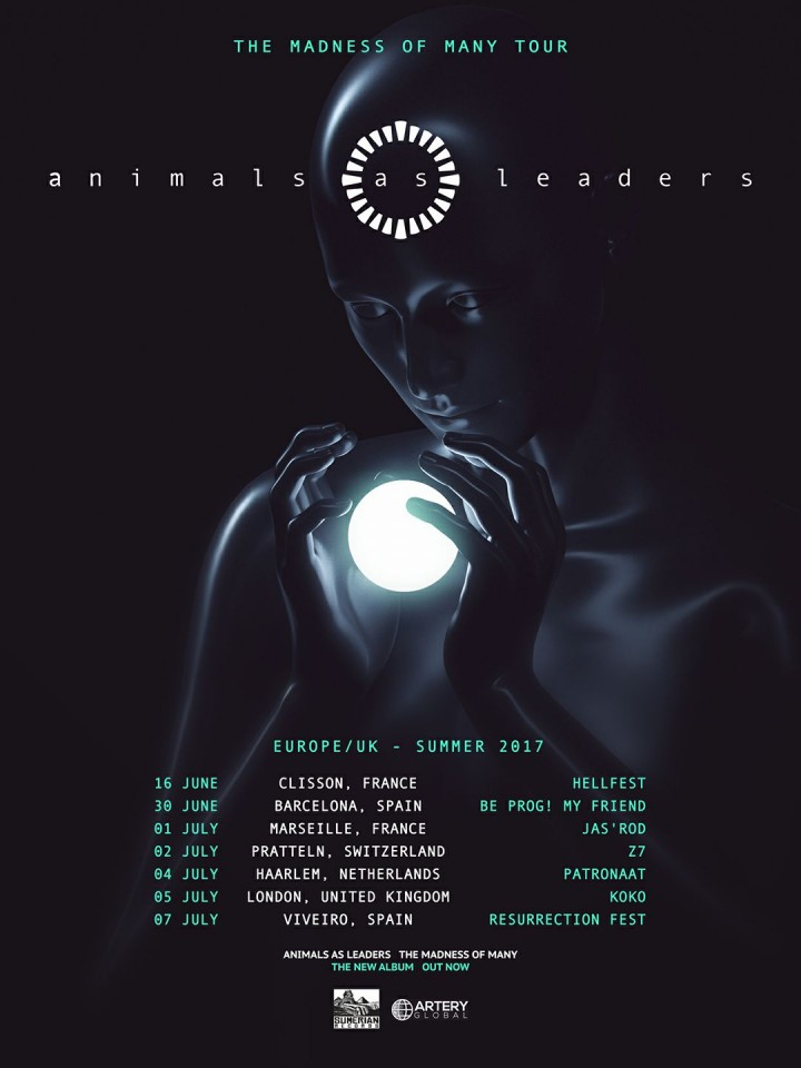 Animals as Leaders Tour 2017