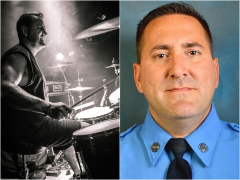 Internal Bleeding drummer and firefighter dies in the line of duty