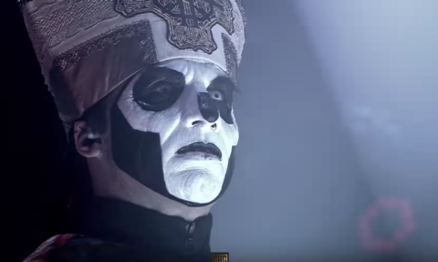 "Video: Papa Emeritus joins Kreator to perform ""Satan Is Real"""
