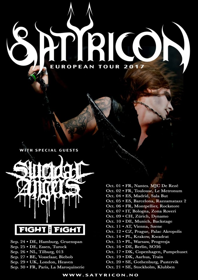 Satyricon Tour 2017