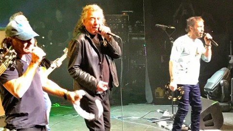 Video: Brian Johnson makes live return performing with Robert Plant and Paul Rodgers