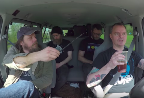 "Red Fang's musicians show how they can get on each other's nerves in video ""Cut It Short"""