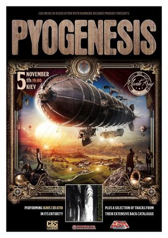 5 листопада в Україні вперше виступлять німці Pyogenesis