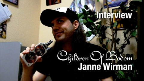 Interview with Janne Wirman (Children Of Bodom) about touring, new album, and recording in a warehouse
