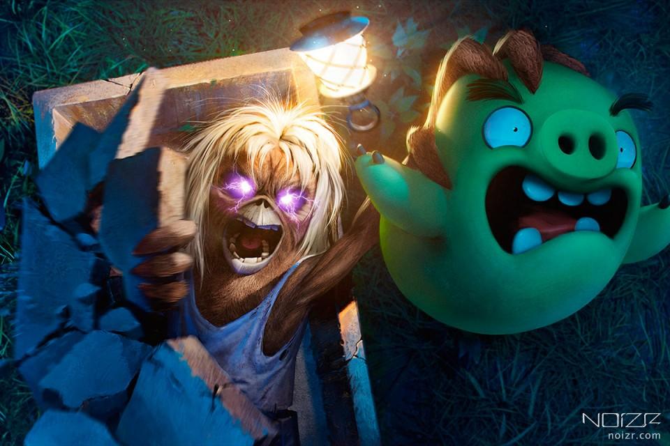 "Маскот Iron Maiden з'явиться у грі ""Angry Birds Evolution"""