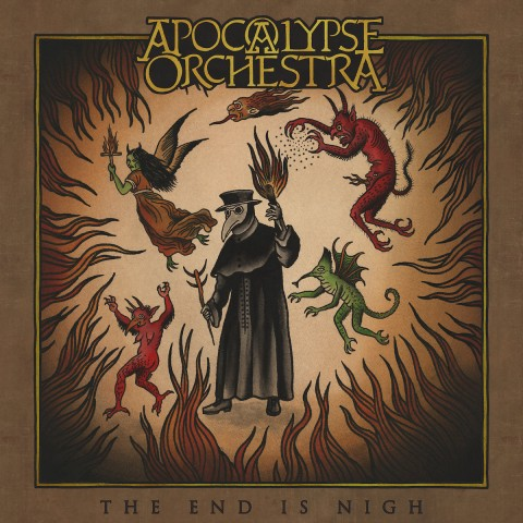 """Medieval theater of Apocalypse Orchestra: Review for """"The End Is Nigh"""" album"""