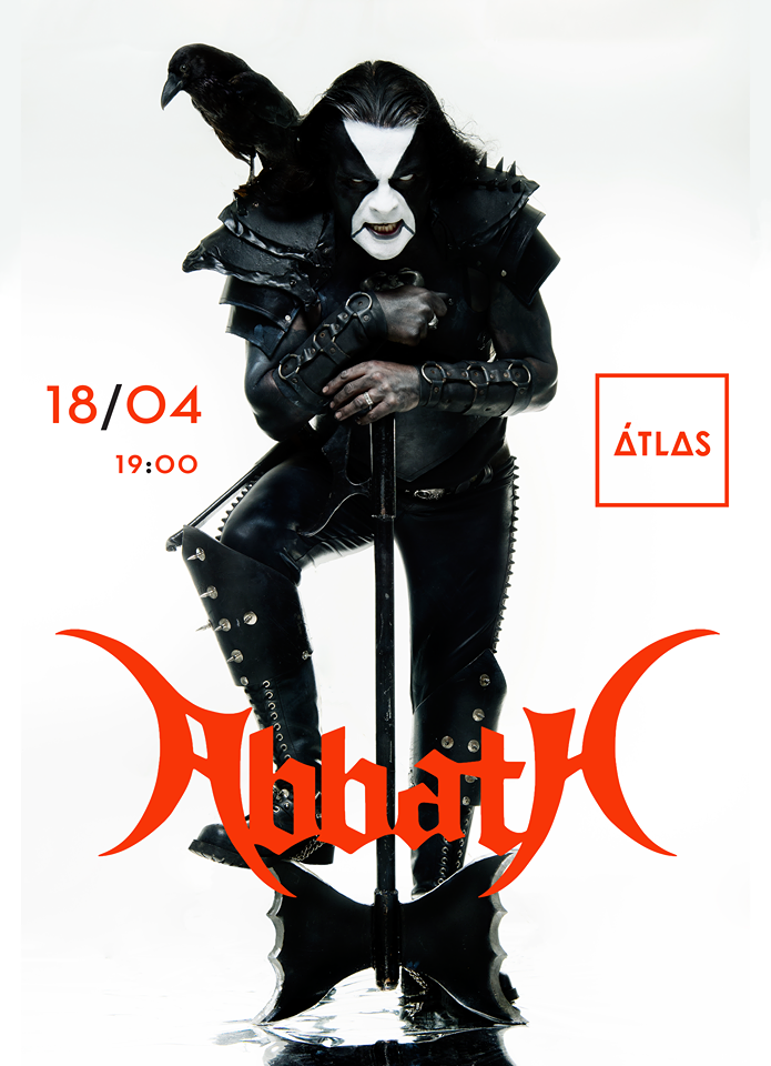Abbath to perform on April 18 in Kyiv