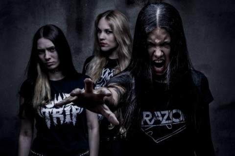 "All-female thrash band Nervosa unveils first song from ""Downfall Of Mankind"" album"