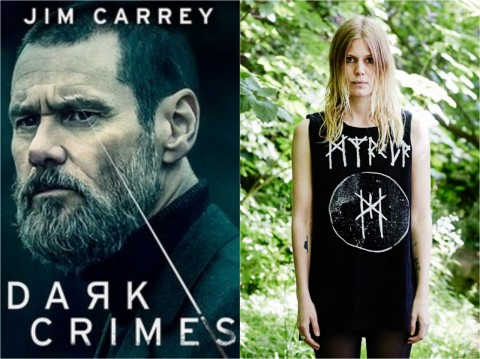 "See ""Dark Crimes"" movie trailer, feat. Myrkur song and Jim Carrey as a lead actor"