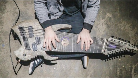 Blogger makes track on 18-string guitar