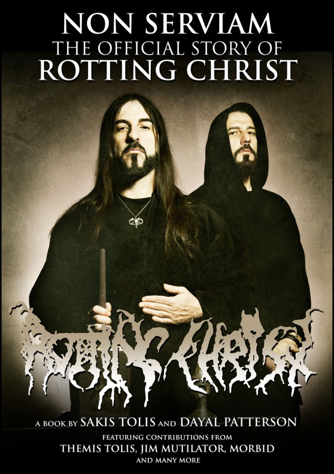 """Non Serviam"": Review of Cult Never Dies' biography about Rotting Christ"