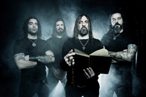 "Rotting Christ release lyric video ""Heaven and Hell and Fire"""