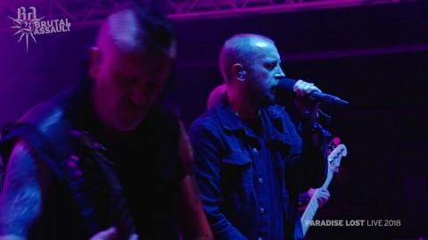 Концертное видео с выступления Paradise Lost на фестивале Brutal Assault 23