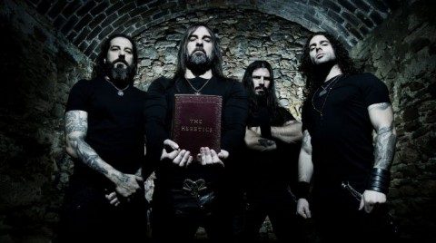 "Rotting Christ release animated video ""In the name of God"""