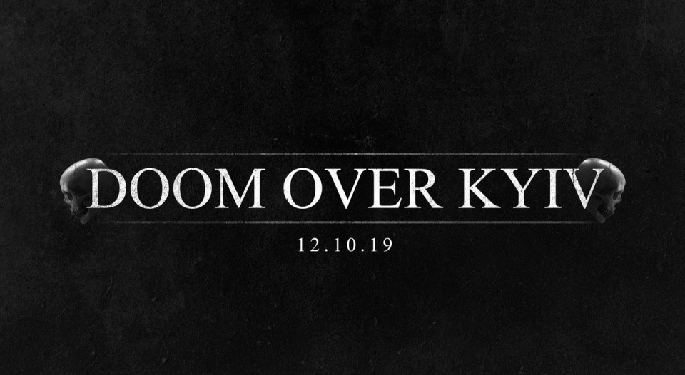 Doom Over Kyiv: First announcements and date of the festival