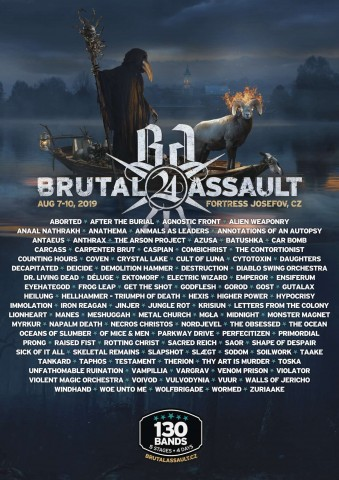 Brutal Assault festival reduced price tickets to be available till the end of April