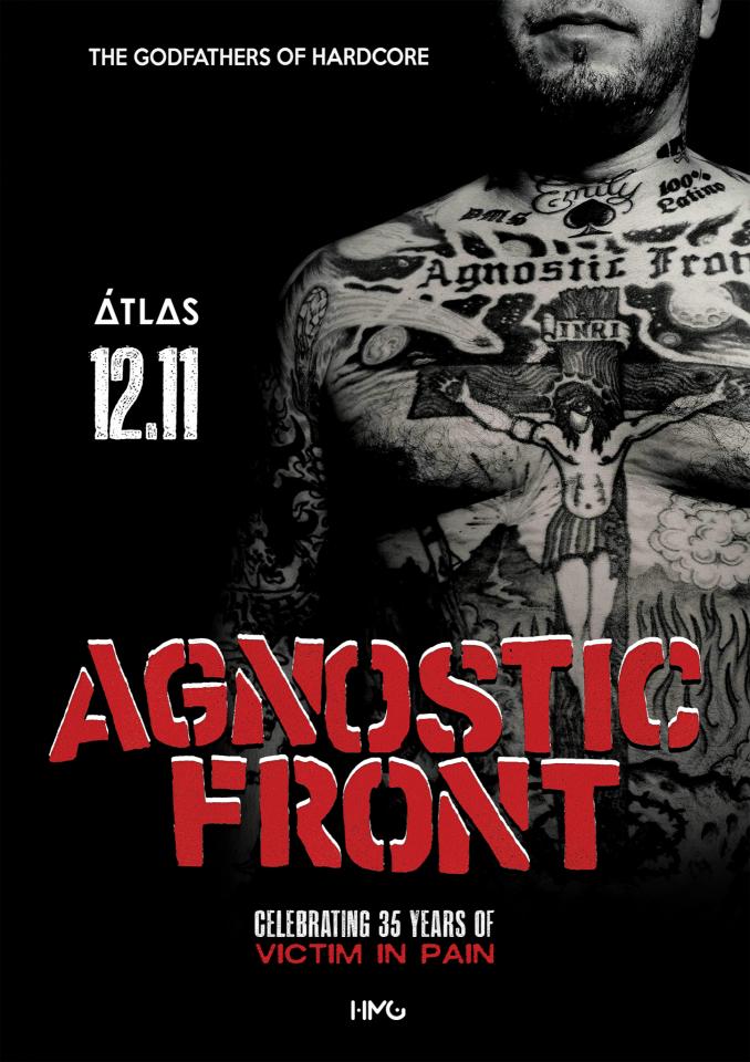 Agnostic Front відсвяткують у Києві 35-річчя дебютного альбому