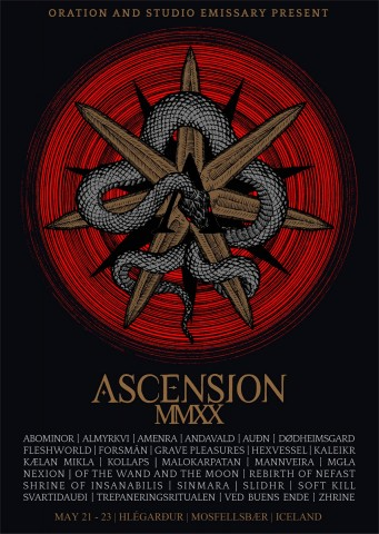 Amenra, DHG, Svartidauði, Zhrine: Ascension fest announces new bands