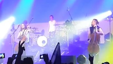 Video: Apocalyptica performing Ukrainian anthem