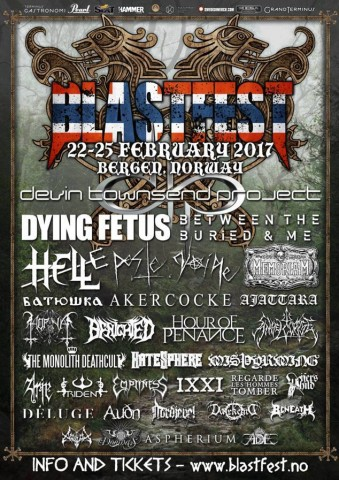 Blastfest: Who will perform at Norwegian festival next year