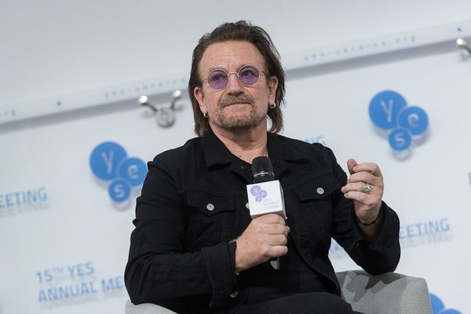 Photo Bono by YES — U2 leader secretly visited Ukraine last weekend