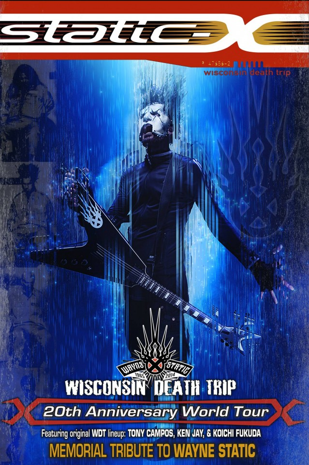 Static-X to give a show in Kyiv as a part of Wayne Static Tribute Tour