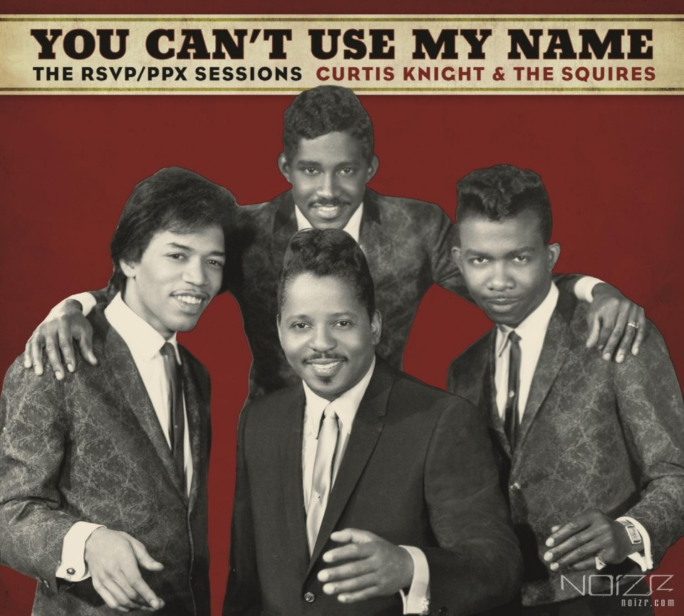 Jimi Hendrix's early recordings with Curtis Knight will be released in late March