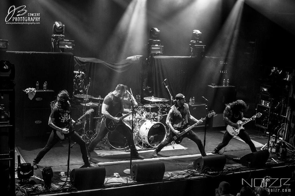 Wovenwar — Wovenwar: даты североамериканского тура с In Flames и All That Remains