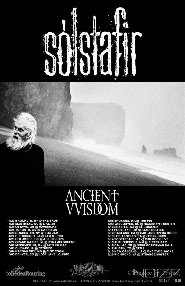 Sólstafir анонсировали турне по Северной Америке