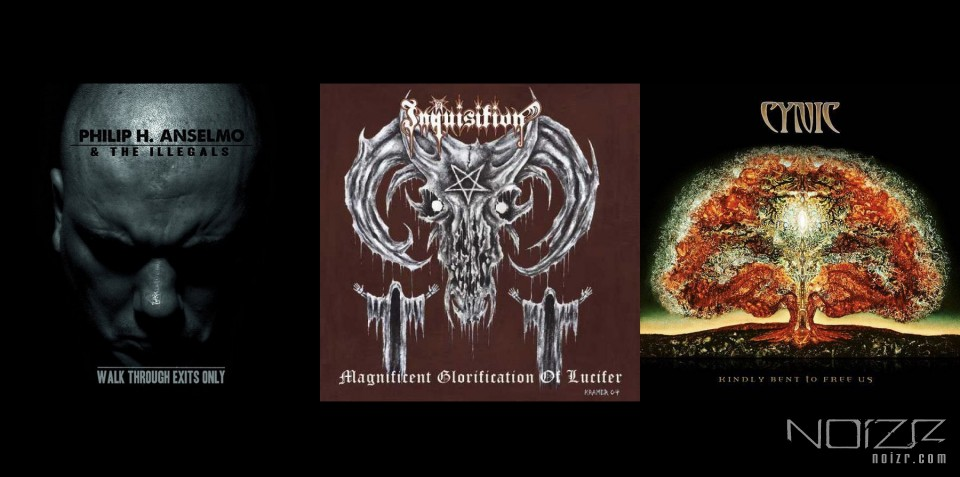 Philip H. Anselmo & the Illegals, Inquisition and Cynic official album streams